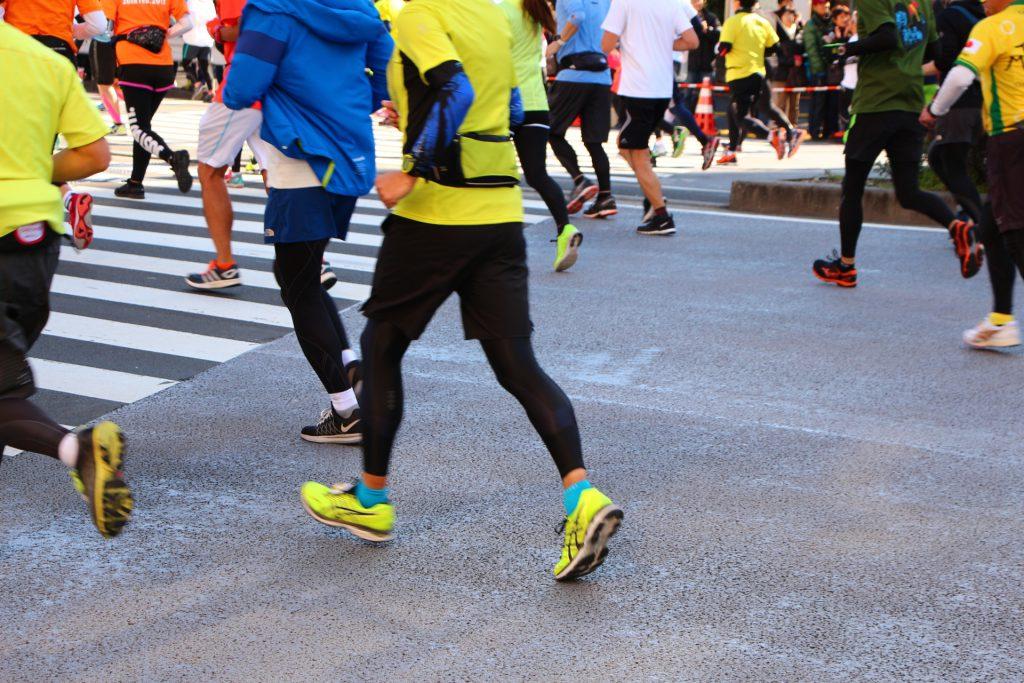 神戸マラソンの時に最適なウェアについての画像です。