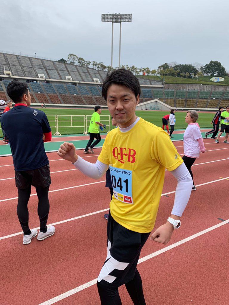 神戸マラソン初参加となるQBBランナーの紹介です。
