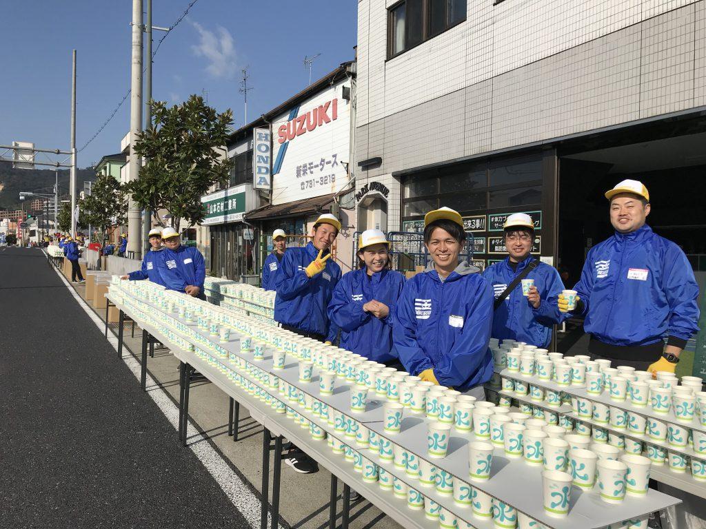 神戸マラソンに、ボランティアスタッフで初参加する吉川さん。